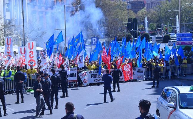 La tensión por el cierre de las plantas de Alcoa llega a las puertas del Congreso