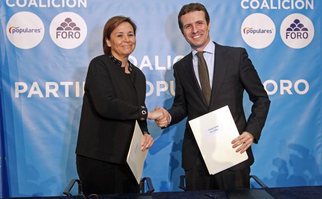 Génova sondea al PP de Asturias para acudir en coalición con Foro a las autonómicas