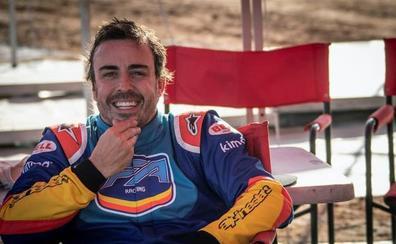 Alonso: «Tengo ganas de conducir. El poder venir Bahrein y subirme al F1 es un placer»