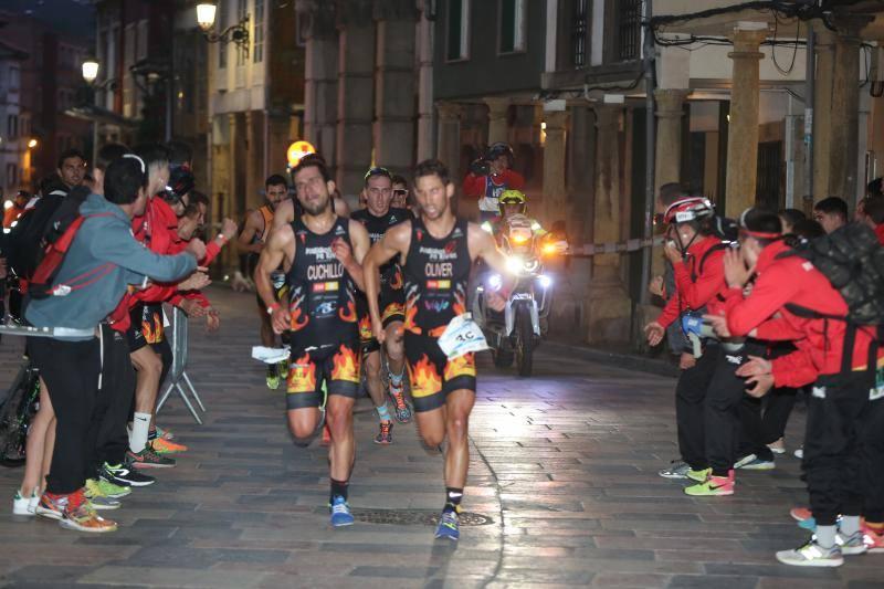 Avilés acoge el Campeonato de España de duatlón contrarreloj por equipos