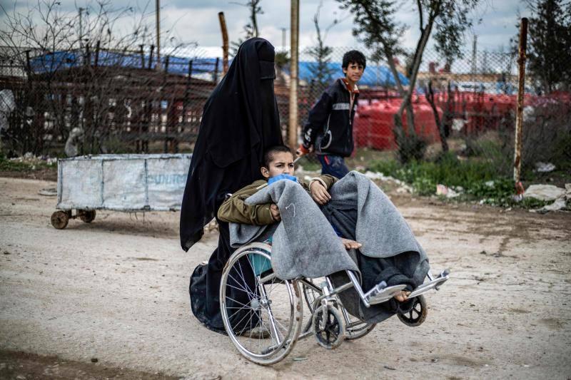 Condiciones extremas en Al Hol, el campo de refugiados sirio