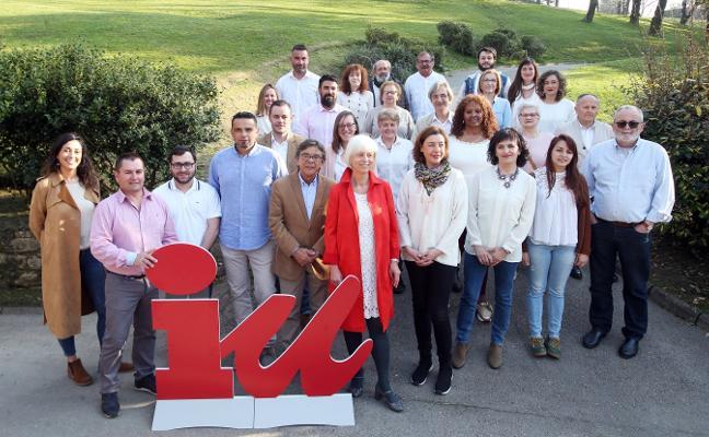 Concha Masa toma el relevo de Sánchez Ramos al frente de la candidatura de Izquierda Unida