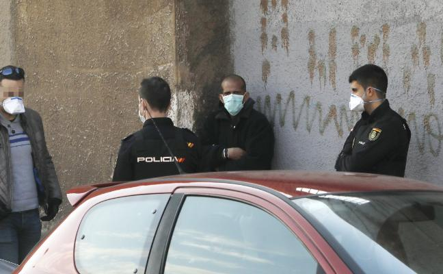 Protocolo 'anticontagio' en Gijón por la fuga de un enfermo