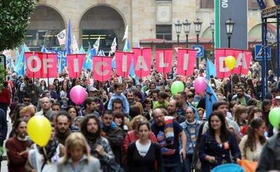 La Xunta pola Defensa de la Llingua espera una respuesta masiva en su manifestación por la oficialidad