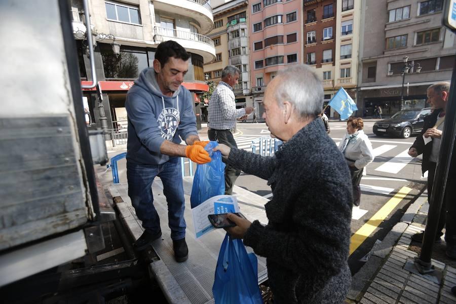 Los pescadores reclaman en Oviedo un «reparto justo» de la xarda