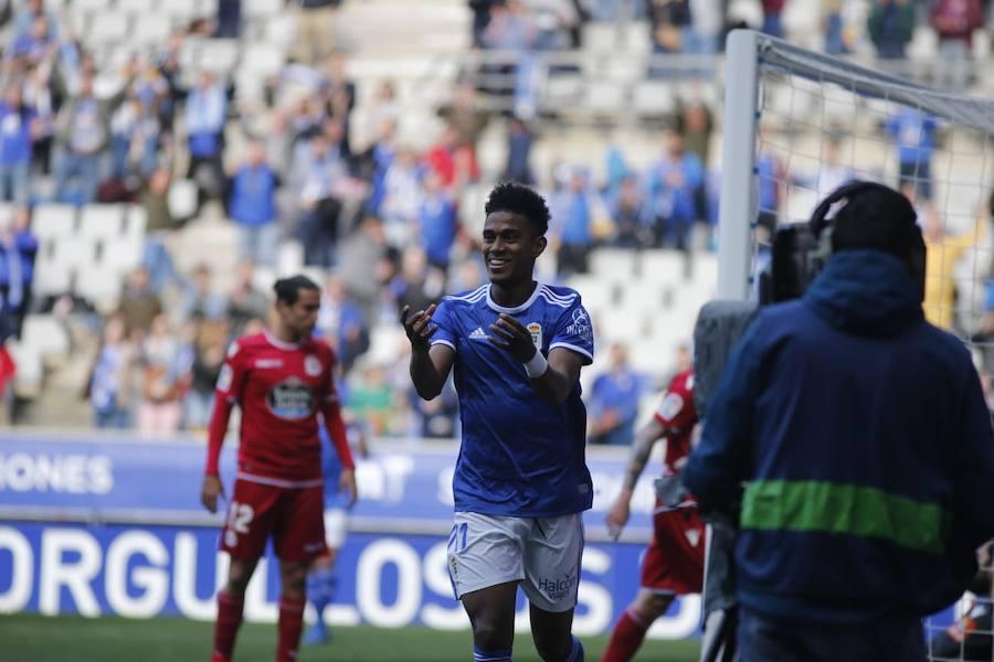 Las imágenes del Real Oviedo – Deportivo de La Coruña