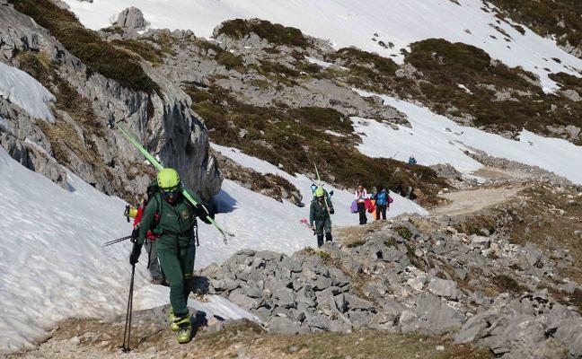 Fotografía y esquí de montaña para vivir Sotres