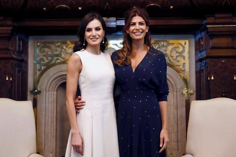 La reina Letizia y Juliana Awada, aliadas de la elegancia