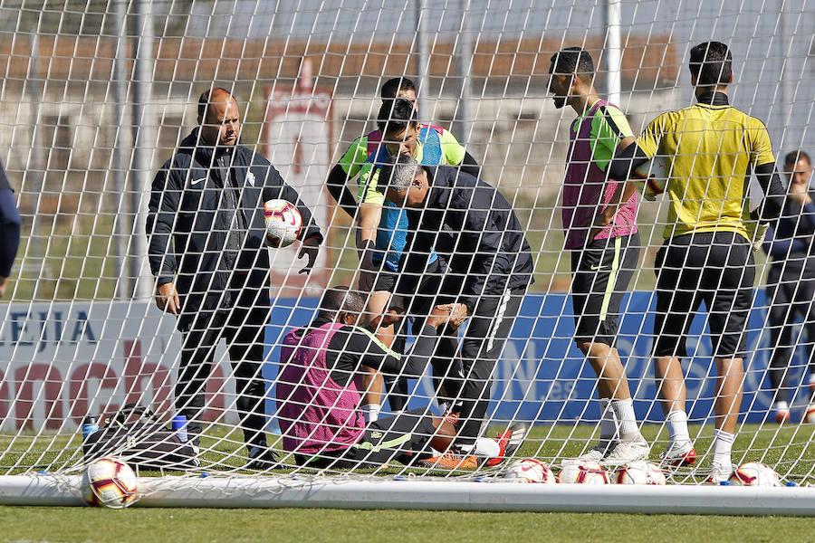 Entrenamiento del Sporting (01-04)