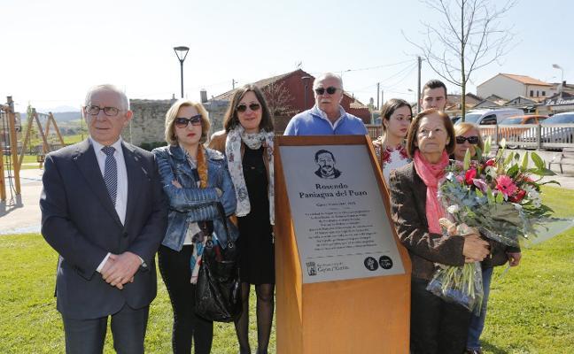 Homenaje a «un vecino entrañable» que hizo barrio