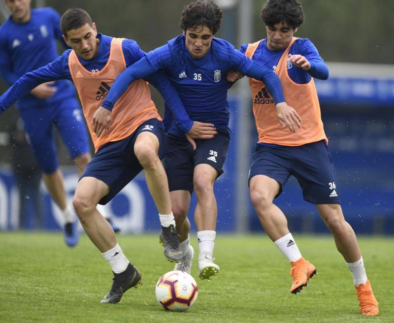 Entrenamiento del Real Oviedo (2/04/2019)