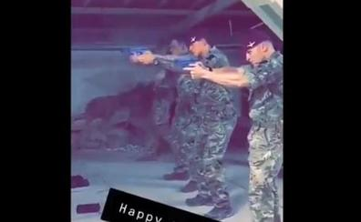 Londres investiga el vídeo en el que soldados británicos practican su puntería con una foto de Corbyn