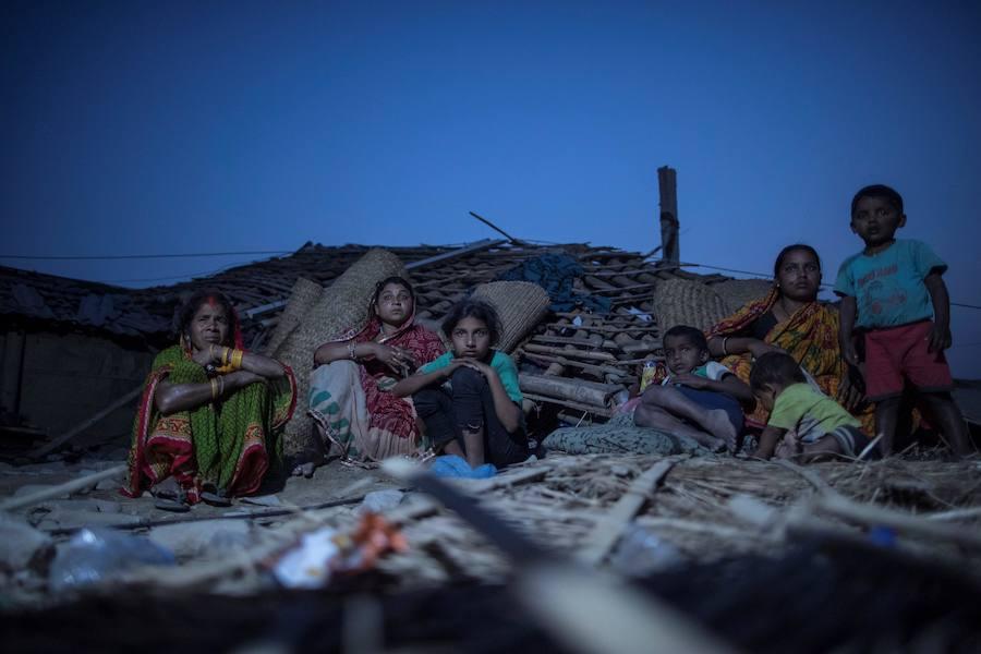 Devastadora tormenta al sur de Nepal