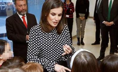 La reina Letizia: «Hay que informar con rigor y veracidad»