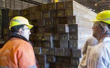 Los sindicatos llaman a la huelga en Arcelor los próximos 23 y 27 de abril