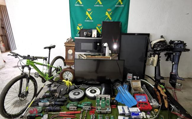 Cae una banda que robaba en casas y locales de Galicia y el occidente asturiano