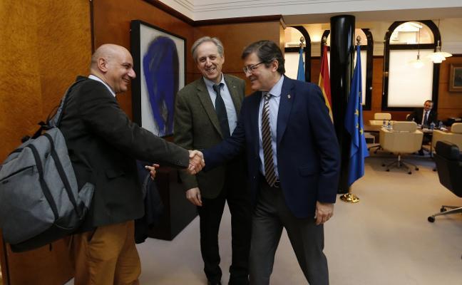 Arcelor traslada al Principado su inquietud por la futura evolución de las plantas asturianas
