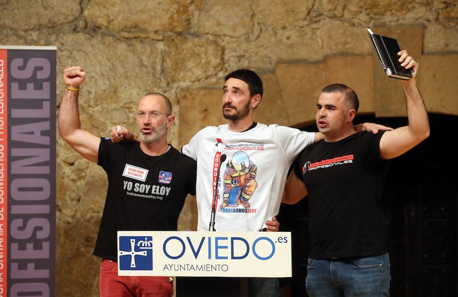 Emoción en el homenaje a Eloy Palacio en Oviedo
