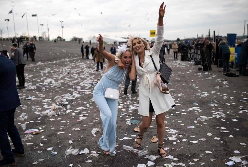 Del glamour a los excesos en la 'Ladies Day'