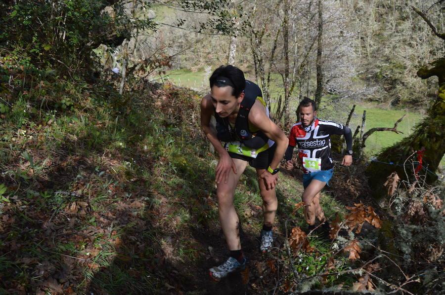 Pablo Villa y Oihana Kortazar baten el récord de la carrera de montaña 'Puerta de Muniellos'