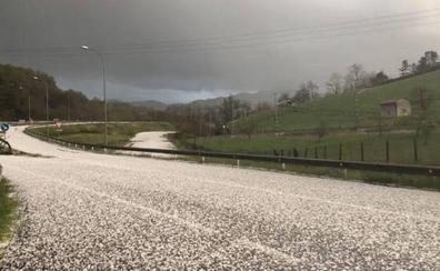 VÍDEO: La tremenda granizada caída en Asturias