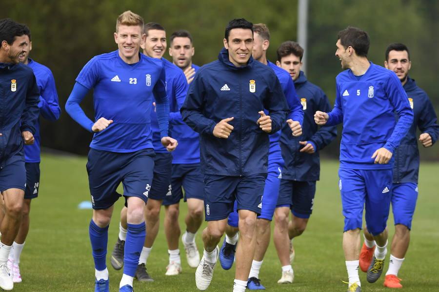 El Real Oviedo se entrena