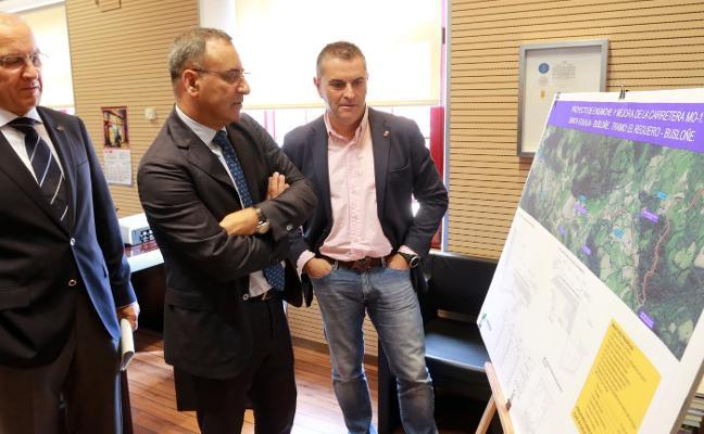 Más de cinco millones para la vía de Santa Eulalia a Busloñe