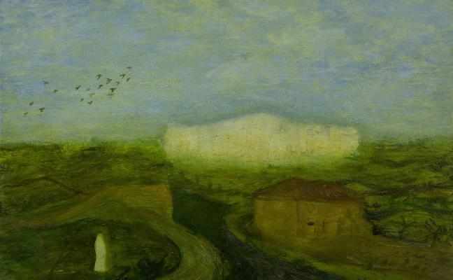 Alberto Ámez cuelga en Espacio Líquido su 'Gabinete de Pinturas'