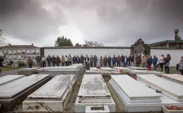 El Muro de la Memoria de La Carriona honrará a 612 asesinados en el franquismo