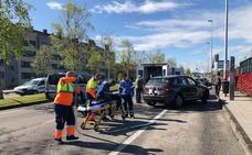 Atropellado un hombre en patinete cuando cruzaba la avenida de Oviedo