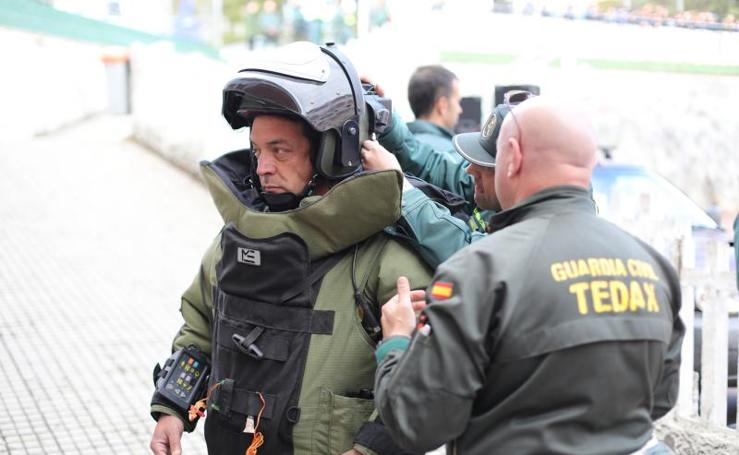 La Guardia Civil se exhibe en el San Fernando