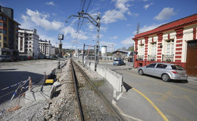 El soterramiento de Langreo, parado por problemas burocráticos en Madrid