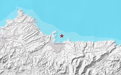 Terremoto de 2,5 grados en la bahía de Gijón