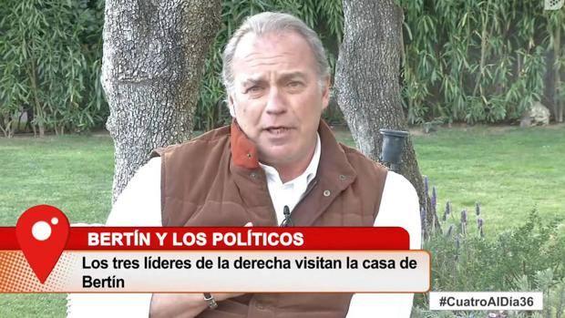 Bertín Osborne tiene un mensaje para Pablo Iglesias y Pedro Sánchez por no ir a su programa