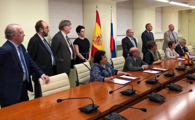 La Universidad de Oviedo, fundadora de una alianza con Rusia para impulsar la investigación