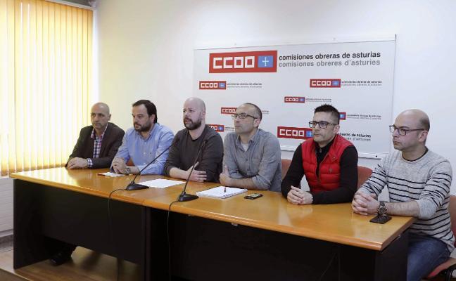 UGT, CC OO y USO culpan a Podemos y CSI de asustar a los clientes de Vauste