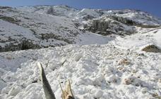 La Aemet advierte de riesgo notable de aludes en Picos de Europa este fin de semana
