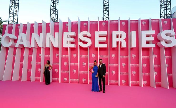 Las imágenes de la alfombra roja del Festival de Series de Cannes