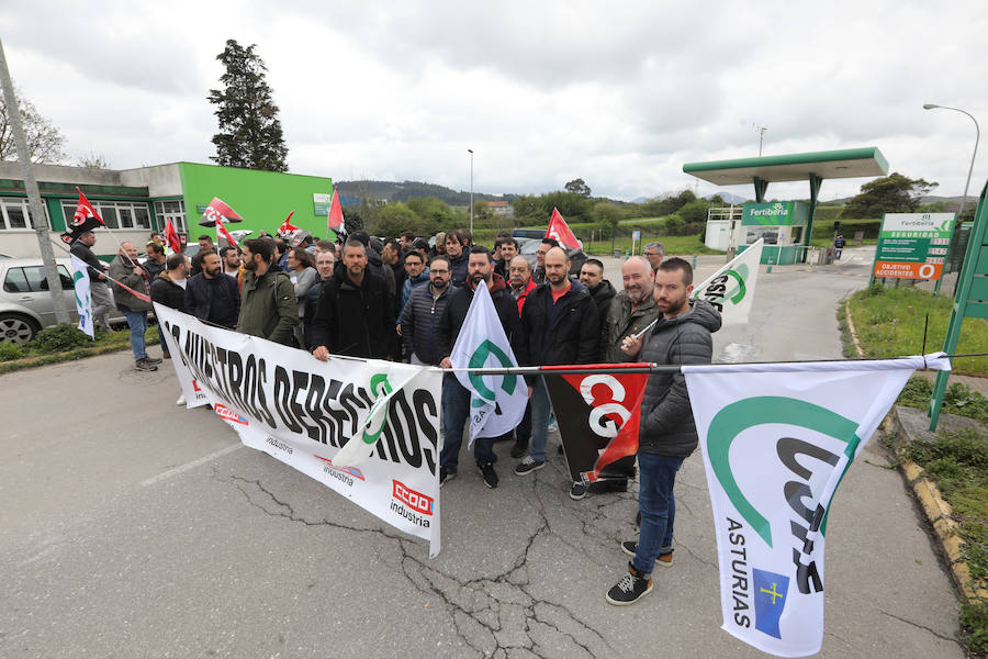 Fertiberia vive su primera huelga en veinticuatro años