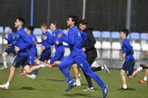 Entrenamiento del Real Oviedo del 12 de marzo de 2019