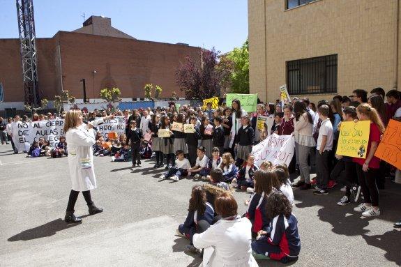 El colegio San José de Sotrondio cerrará sus puertas al finalizar el presente curso escolar
