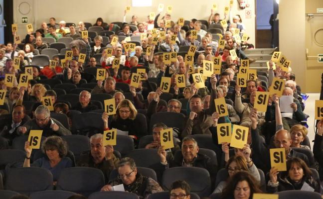 El Grupo aprueba por amplia mayoría la subida de las cuotas en un 3,9%