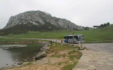 Limitado el acceso a los Lagos de Covadonga durante Semana Santa