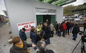 Los vecinos de La Felguera seguirán luchando en la calle por el soterramiento de Feve