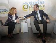 Pablo Casado abre la campaña electoral en Asturias