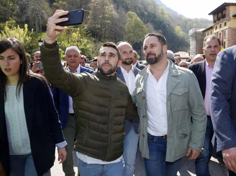 Vox inicia campaña en Covadonga «por su potente simbolismo»