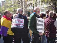 Manifestación en Gijón por pensiones dignas