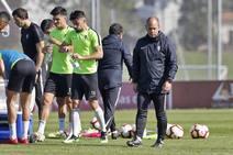 Entrenamiento del Sporting (13-4-19)