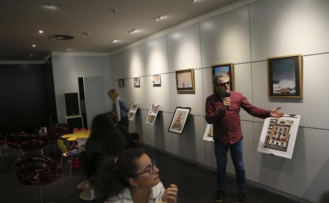 Toli Morilla expone en la FNAC de Siero
