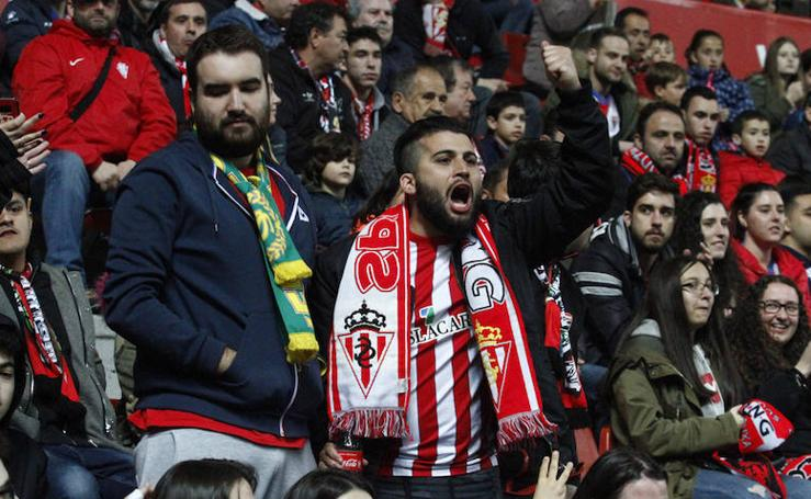¿Estuviste en el Sporting-Granada? ¡Búscate aquí!